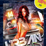 6 Amazing Free DJ Flyer PSD Templates