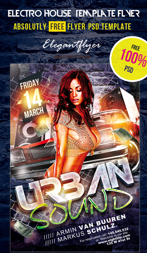 Urban-Music-DJ-Flyer