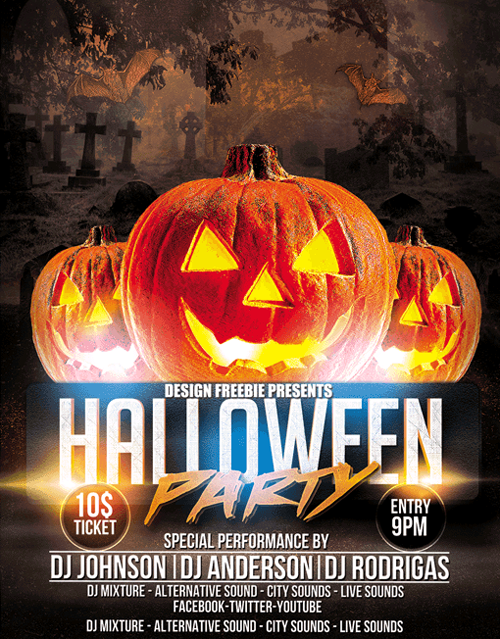 DJ-Halloween-Flyer